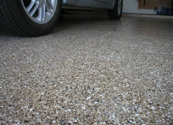 make a clean lot your apply epoxy easier to sealer garage floor great and the at of concrete surfer paint yard look shield coat you same time need up
